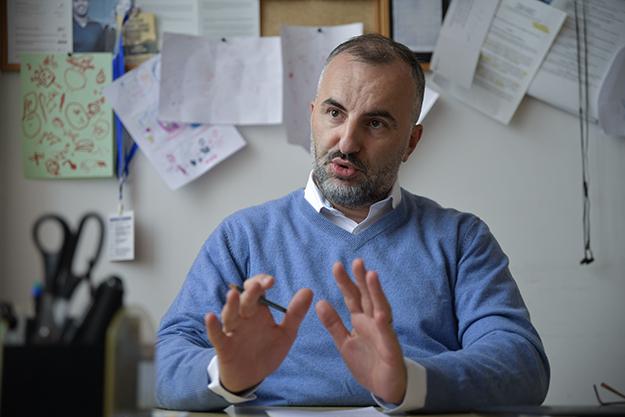 Arben Hajrullahu (foto: Atdhe Mulla / K2.0)