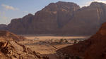 """Un'immagine tratta dal documentario """"Living Water"""" di Pavel Borecký raffigura un villaggio della Giordania in un'area semi-desertica"""