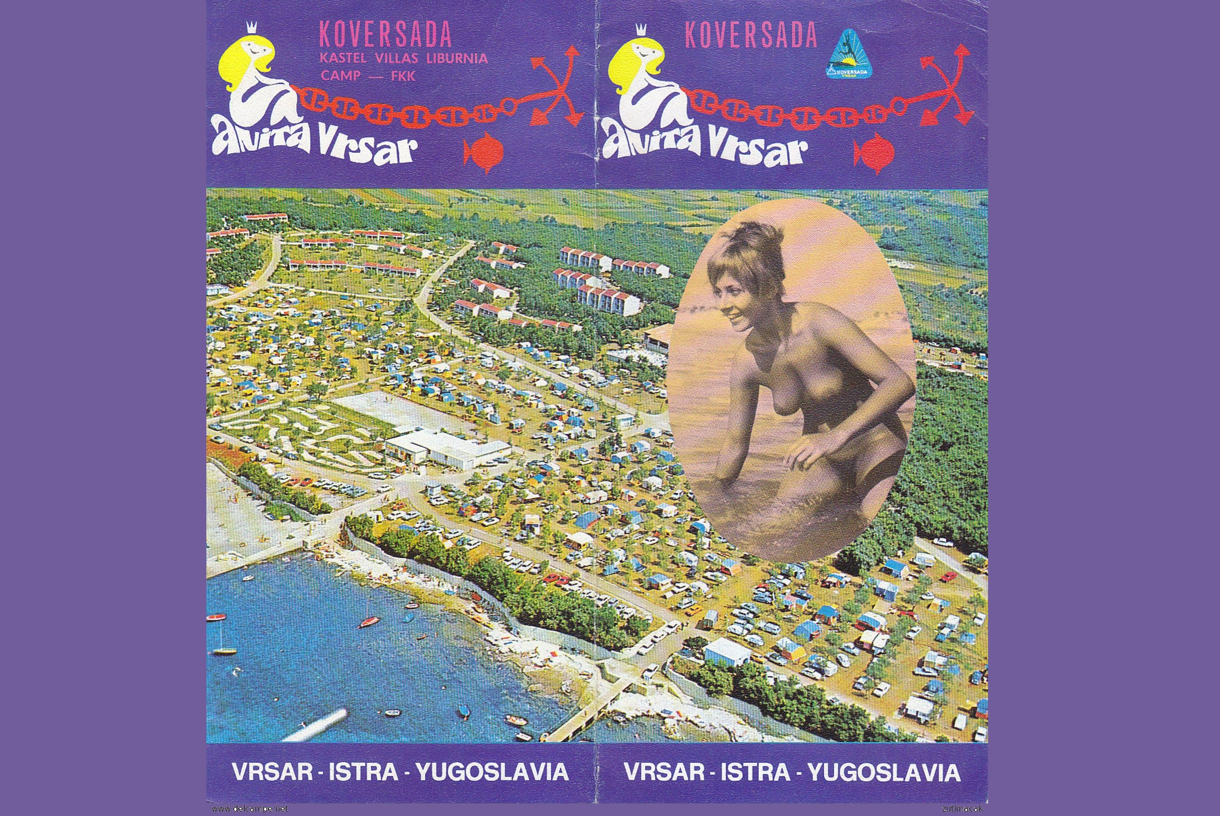 Una pubblicità del resort di Koversada