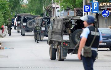Scontri a Kumanovo