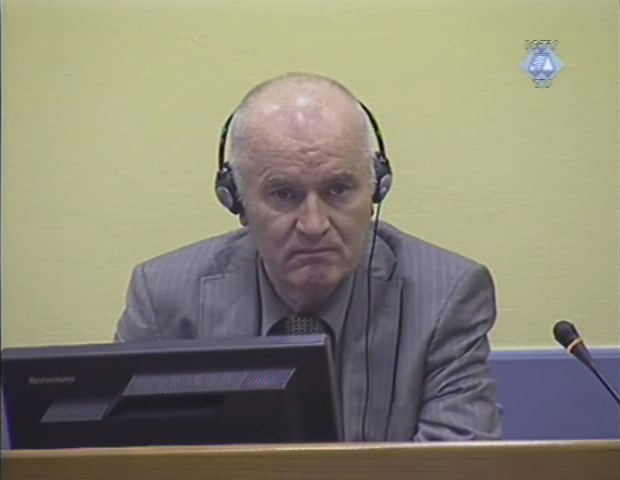 Ratko Mladić (foto ICTY)
