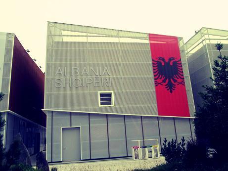 Il padiglione albanese all'Expo - foto di Rando Devole