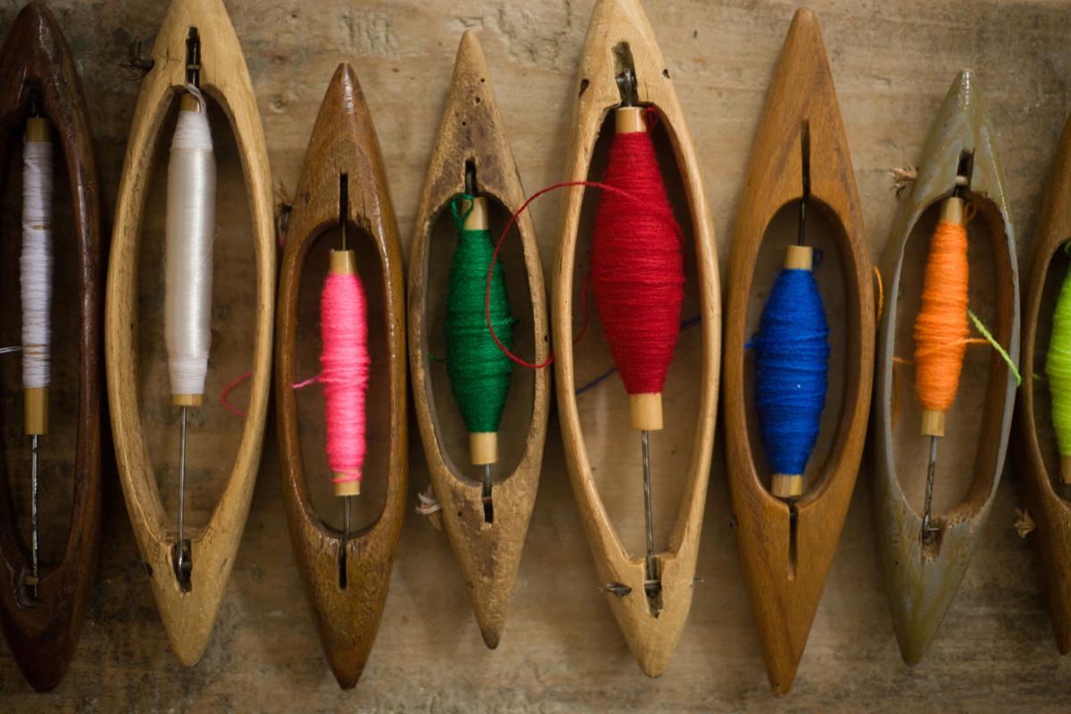 Nord dell'Albania, tessitura tradizionale - Ivo Danchev