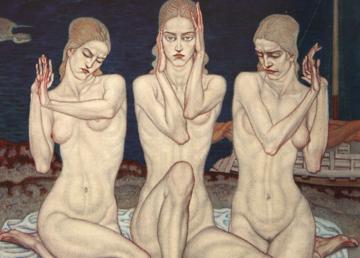 Tre grazie, 1918 (Jozo Kljaković)
