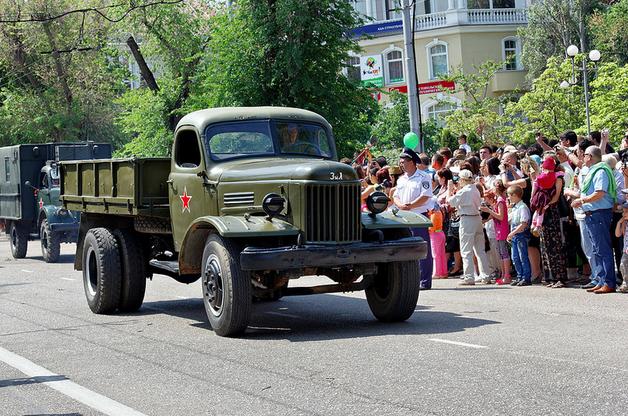 Parata a Sebastopoli commemorativa della liberazione dopo la Seconda guerra mondiale (Alexxx Malev/flickr)