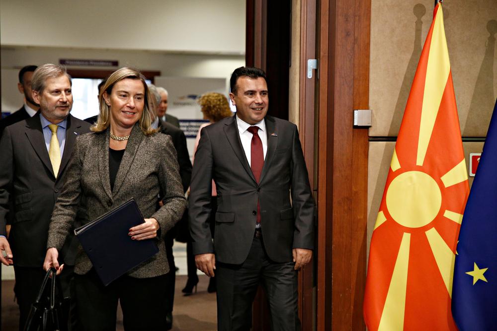 Federica Mogherini in visita ufficiale in Macedonia del Nord - Alexandros Michiailidis / Shutterstock