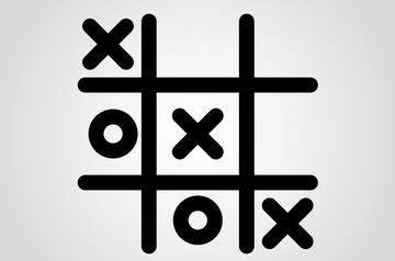 Game of tic tac toe (© NaMu Studio/Shutterstock)