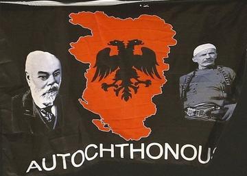 Bandiera dell'Albania etnica