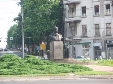 Belgrado, il monumento a Dimitrije Tucović (foto CC 3.0/Mister No)