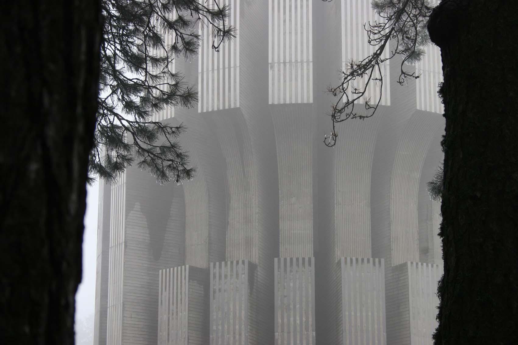 Il Memoriale del Kozara (Foto Andrea Rossini)