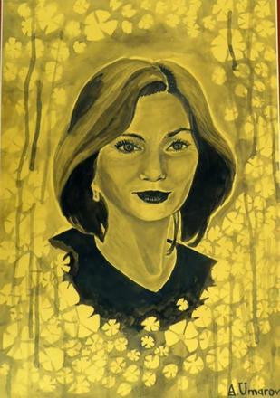 Ritratto di Natalja Estemirova (CC BY-SA 4.0 Wikipedia)