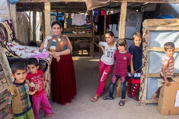 Refugees' camp - Anna Pazos
