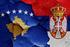 Bandiere di Serbia e Kosovo - © danielo/Shutterstock