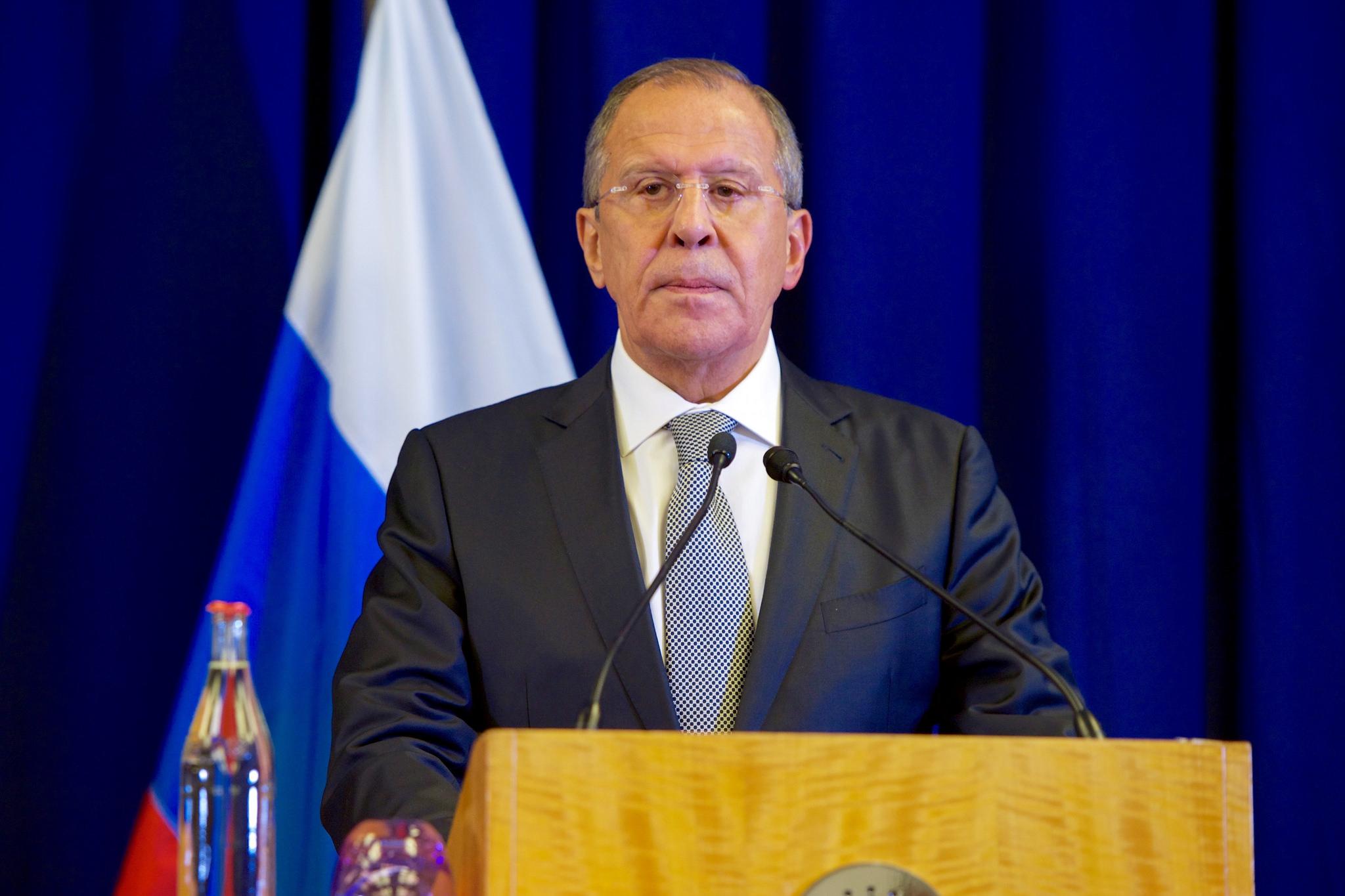 Il ministro degli Esteri russo Sergej Lavrov (foto US Department)
