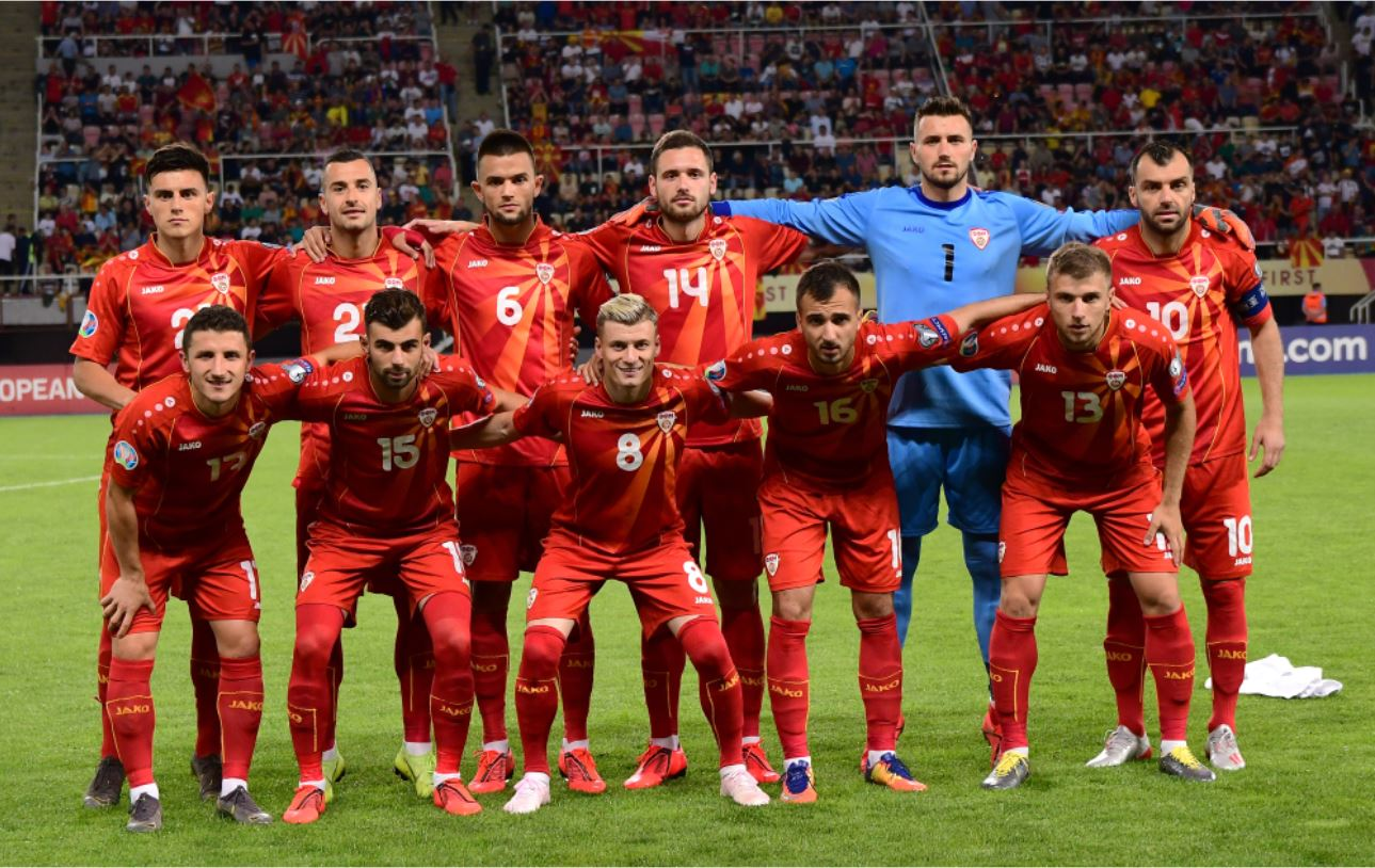 La nazionale di calcio della Macedonia del Nord - © Igor Panevski/Shutterstock