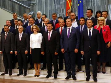 La nuova compagine governativa in Macedonia - www.sdsm.org.mk