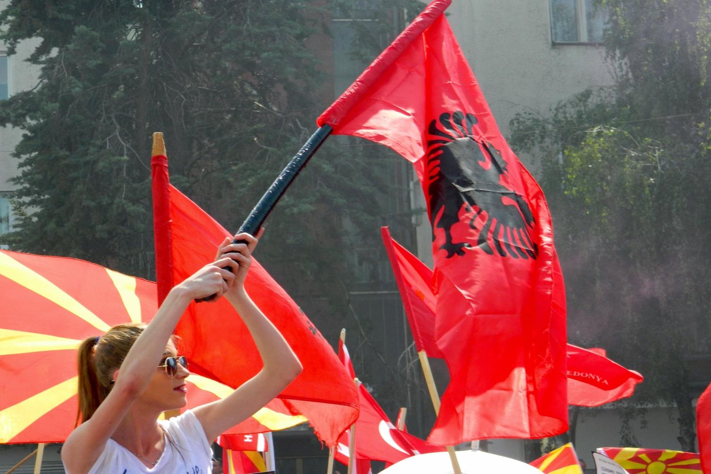 Albanesi di Macedonia