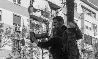 Tirana, studenti in piazza - igli llubani/shutterstock