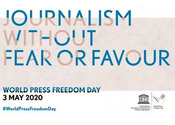 World press freedom 2020