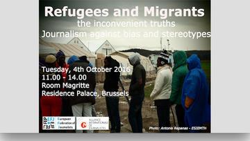 Refugees and migrants, conferenza Bruxelles 4 ottobre 2016 - EFJ.jpg
