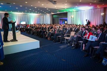 """L'Ambasciatore Nicola Minasi durante l'apertura della conferenza di Sarajevo """"Italia e Bosnia Erzegovina: Balcani ed UE da un secolo all'altro"""""""