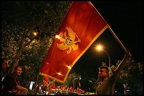 Durante i festeggiamenti la sera del 21 maggio 2006 (foto OBC)