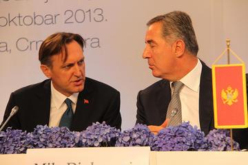 Krivokapić e Đukanović (foto OSCE PA)