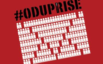 """Il logo del movimento civico """"97000 Odupri se!"""""""