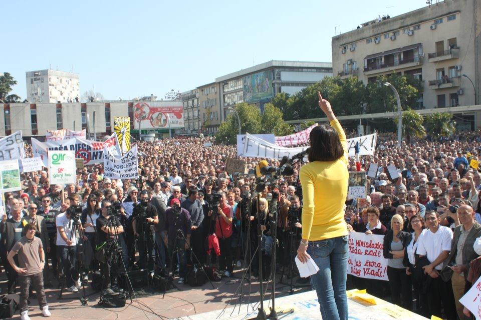 Proteste del 2012 (foto D. Milovac)