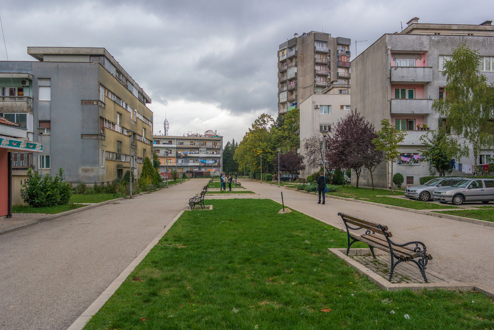 Quartiere residenziale di Nikšić (© Pelikh Alexey/Shutterstcok)