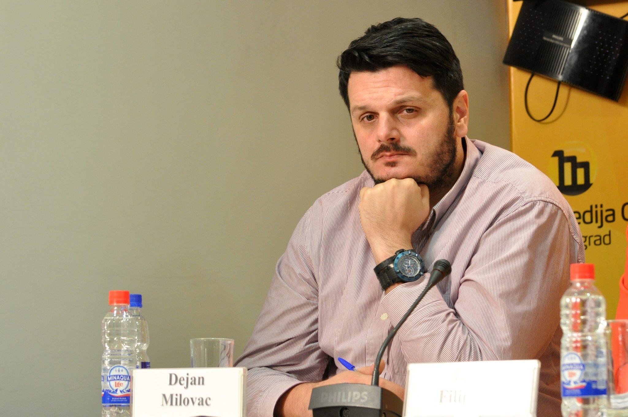 Dejan Milovac (foto Media Centar Belgrado)