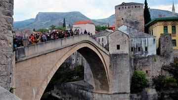 L'arco dello Stari Most. Foto di Mariangela Pizziolo