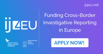 Investigative Journalism for Europe (#IJ4EU)