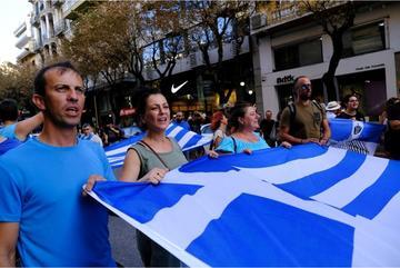 Manifestazioni anti-vaccini a Salonicco - ©  Alexandros Michailidis/Shutterstock