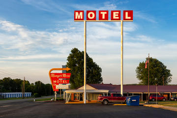 Un Motel a Lebanon, Usa (© Peek Creative Collective/Shutterstock)