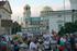 Sofia, gente in piazza a protestare luglio 2020 - foto di F. Martino