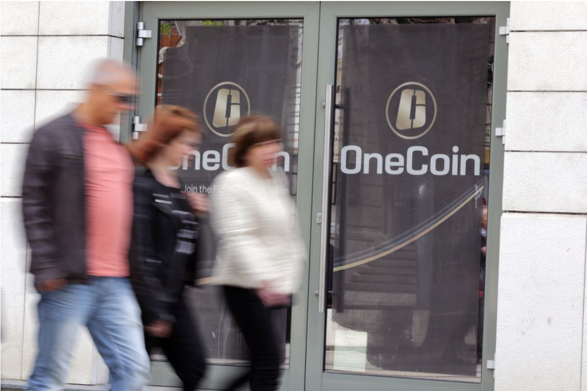 """OneCoin""'s central office - now closed - in the centre of Sofia - © Belish/Shutterstock"