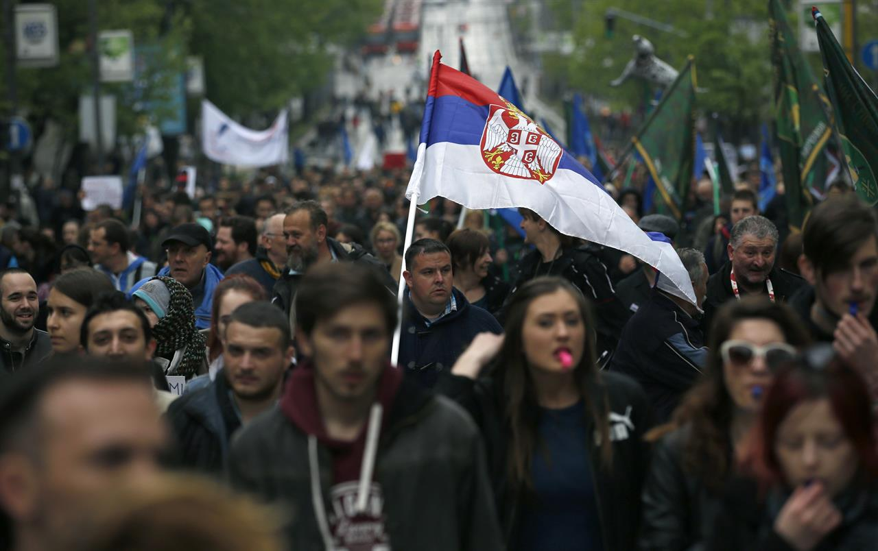 Proteste a Belgrado