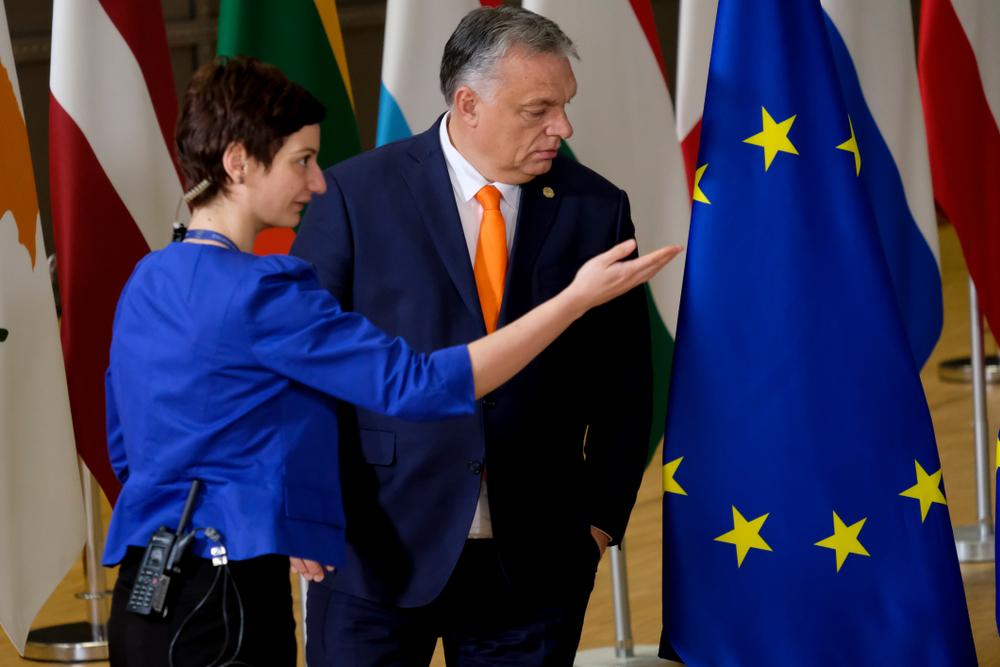 Viktor Orban ad un incontro europeo (© Alexandros Michailidis/Shutterstock)