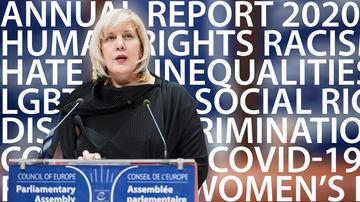 La Commissaria per i diritti umani del CoE Dunja Mijatović