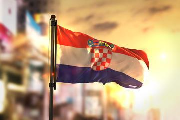 Bandiera della Croazia - Natanael Ginting Shutterstock