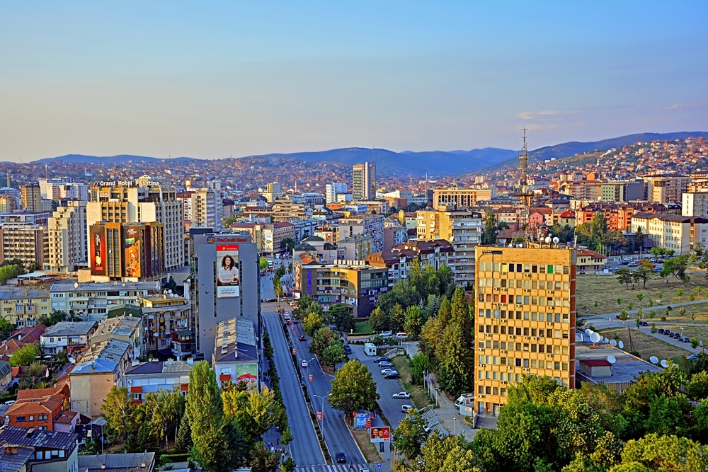 Pristina, la capitale del Kosovo © Martyn Jandula/Shutterstock