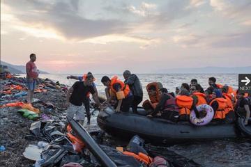 L'arrivo di profughi in Grecia (foto © UNHCR I.Prickett)