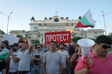 Sofia, le proteste davanti al Parlamento luglio 2020 - foto F.Martino.jpg