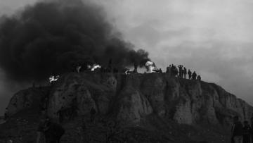 """Un'immagine tratta dal film """"Questa pioggia non si fermerà mai"""", regia di Alina Gorlova"""