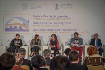Durante la conferenza di Sarajevo del 28 e 29 novembre 2019