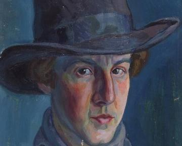 Roman Petrović - Self-portrait