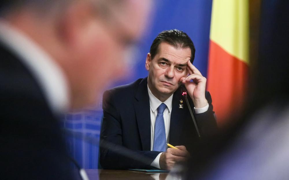 Il premier dimissionario in Romania Ludovic Orban (© LCV/Shutterstock)
