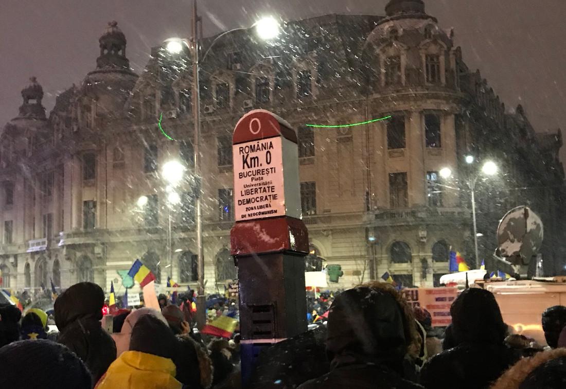 Romania, proteste contro la corruzione, gennaio 2018 - dal web.jpg