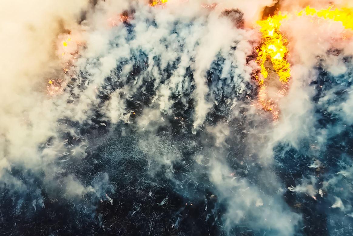 Russia, foresta in fiamme - © LuYago/Shutterstock